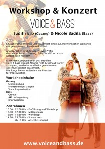 Workshop-Plakat - ohne Preis